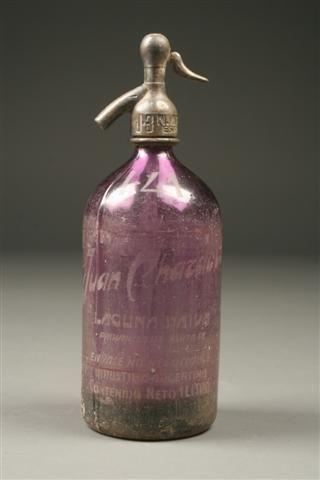 1920´s Seltzer bottle from Argentina. #antique #bottle #seltzer