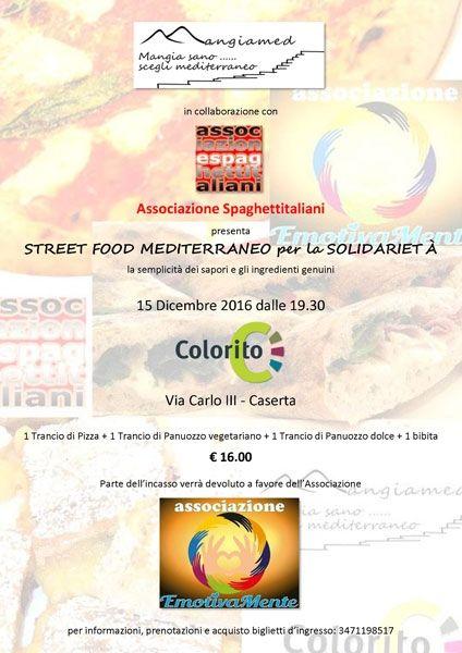 15/12/2016 - Colorito - Caserta - Street Food Mediterraneo per la Solidarietà