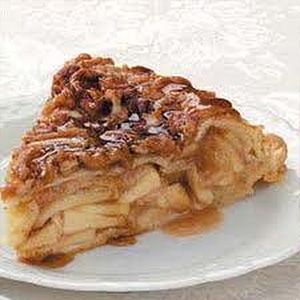 Skinny Points Recipes » Upside-Down Apple Pie Recipe