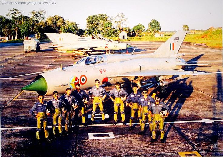 Mig operational flying training unit of indian air force at tezpur AFS.