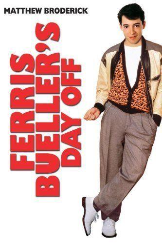 Matthew Broderick actor in Ferris Bueller's Day Off Movie, 1986    He cut classes in school one day had wild adventure