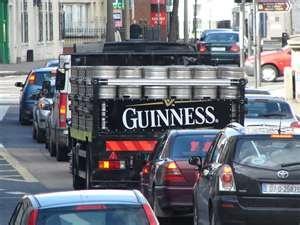 Guinness keg truck...