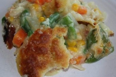 ... turkey for this ----> Easy Chicken Pot Pie - Lynn's Kitchen Advent...