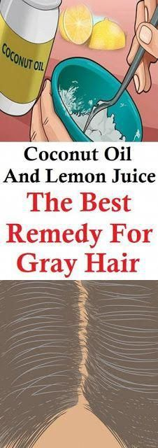 How To Use Coconut Oil And Lemon Juice For Grey Hair – Gonnee Life-style Grey …