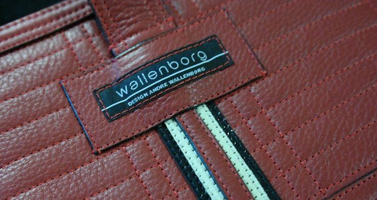 Håndlagde, unike norske vesker signert veskedesigner André Wallenborg.