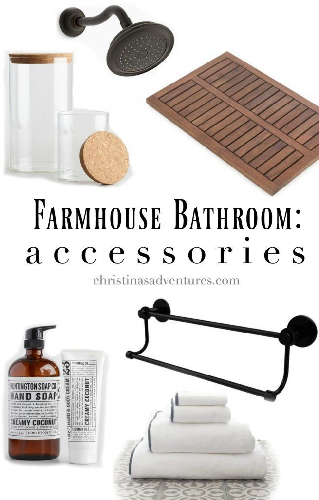 Where to find the best farmhouse bathroom accessories that will stand the test of time