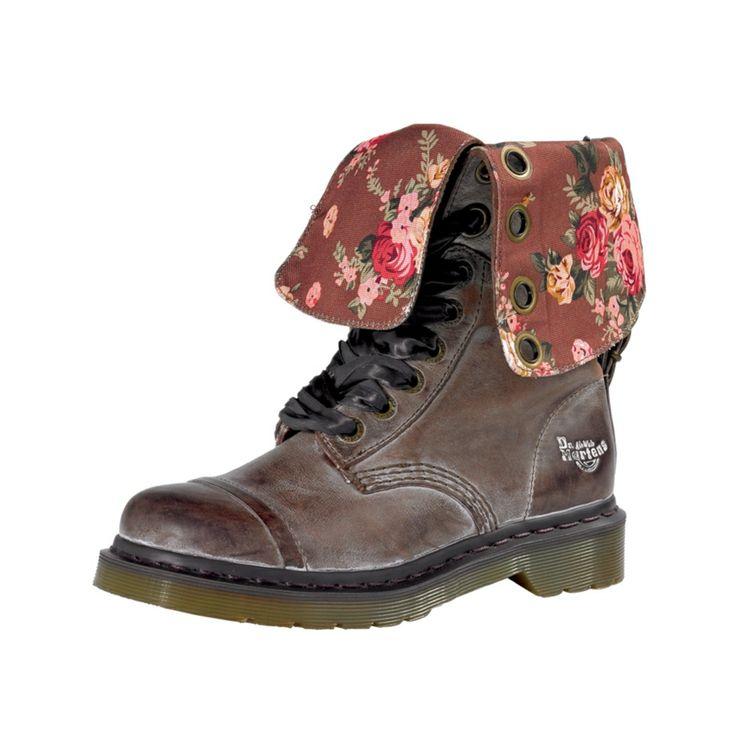 womens dr martens triumph boot brown shoes boots