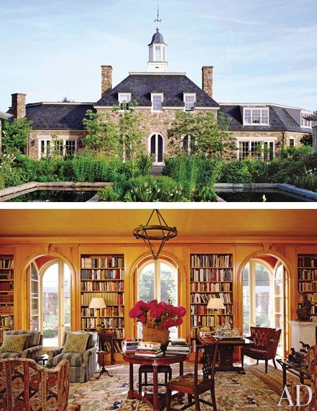 46 best stone houses images on pinterest architecture stone houses and french farmhouse for Architectural digest country homes