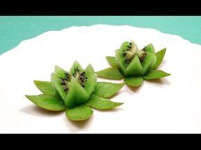 Come fare un Fiore di Loto con un kiwi, in un minuto! ⋆