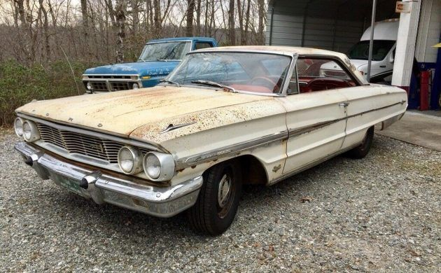 P Code V8 1964 Ford Galaxie 500 Xl Fastback With Images Ford