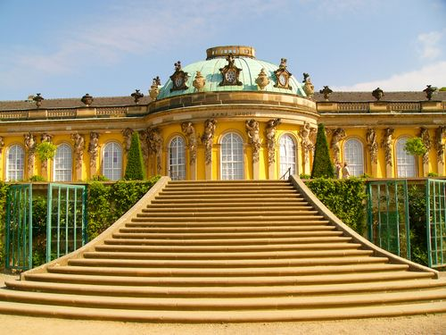 Palaces of Potsdam tour, February 2011