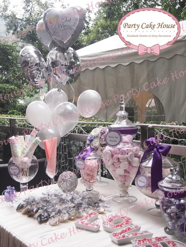 Candy Corner 主題氫氣球 專業佈置服務 場地佈置 盡在生活易 新婚