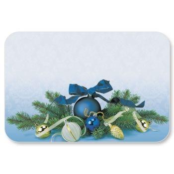 Blue christmas name badge tags 2 pinterest name badges blue christmas and badges for Christmas name badges