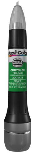 Dupli-Color ACC0423 Forest Green Pearl Chrysler Exact-Match Scratch Fix All-in-1 Touch-Up Paint - 0.5 oz.. For product info go to:  https://www.caraccessoriesonlinemarket.com/dupli-color-acc0423-forest-green-pearl-chrysler-exact-match-scratch-fix-all-in-1-touch-up-paint-0-5-oz/