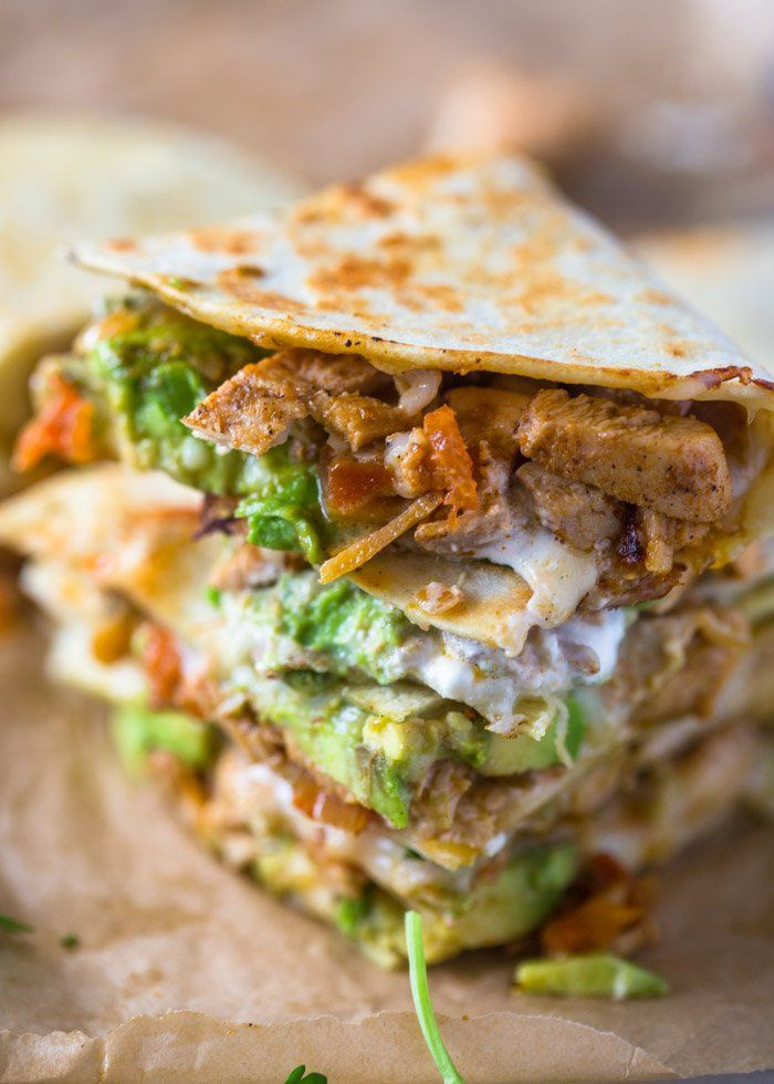 Spicy, smokey, flavorful fajita chicken with caramelizedbell peppers and onions. Add some fresh avocado, sour-cream, lime and cilantro and don't forget the cheese. Place this mouth-watering …