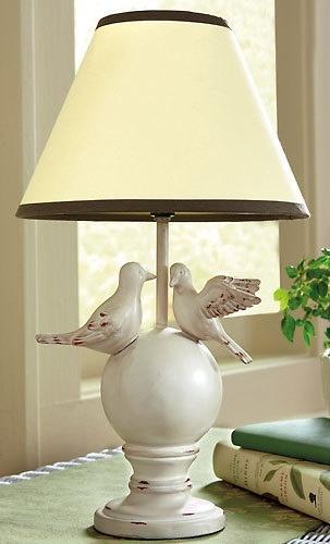 Cute bird lamp