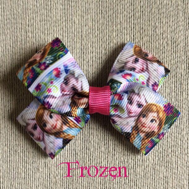 Frozen Hair Bow Clip