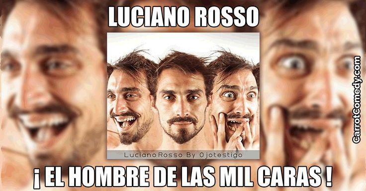 Luciano Rosso es un artista multidisciplinar argentino muy innovador que une sus dotes de bailarín, músico y actor a las de comicidad en su teatro físico.