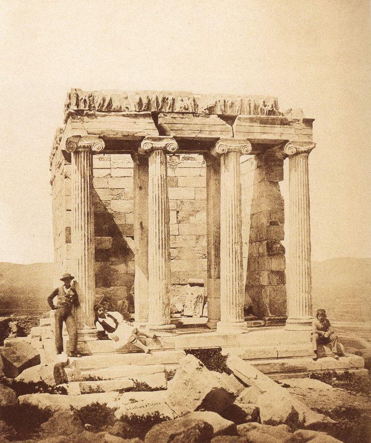 ΝΑΟΣ ΑΘΗΝΑΣ ΝΙΚΗΣ 1855 ( James Robertson & Felice Beato)