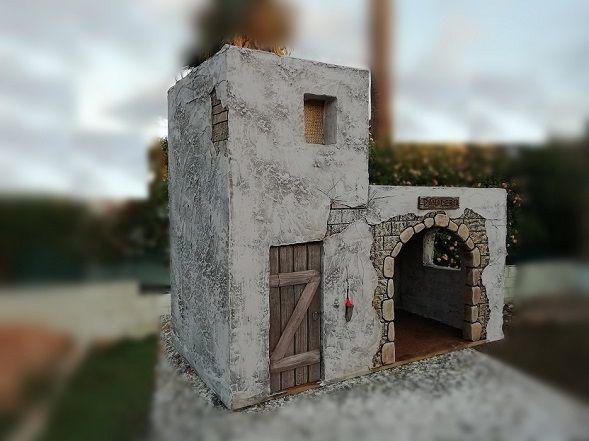 Belen Artesanal Catalogo De Construcciones Belenes Casas Para Belenes Casas De Navidad