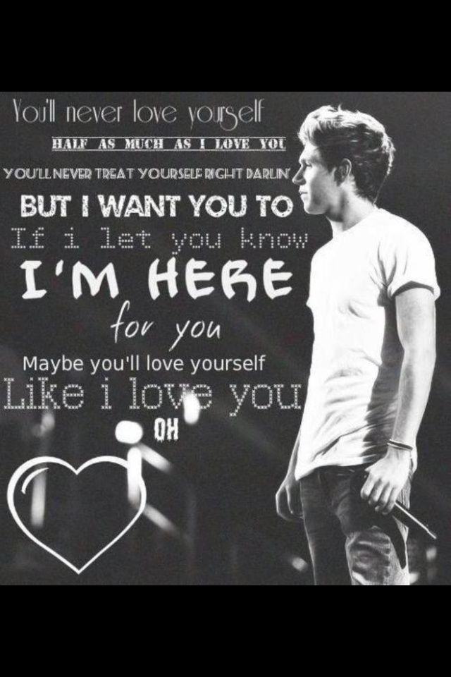 (Niall's solo In Little Things) these are my favorite ...