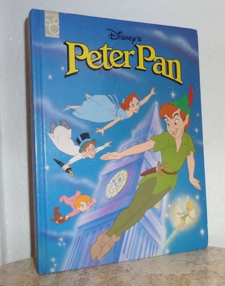 Classic Storybook: Peter Pan by Mouse Works Staff (1997 ...