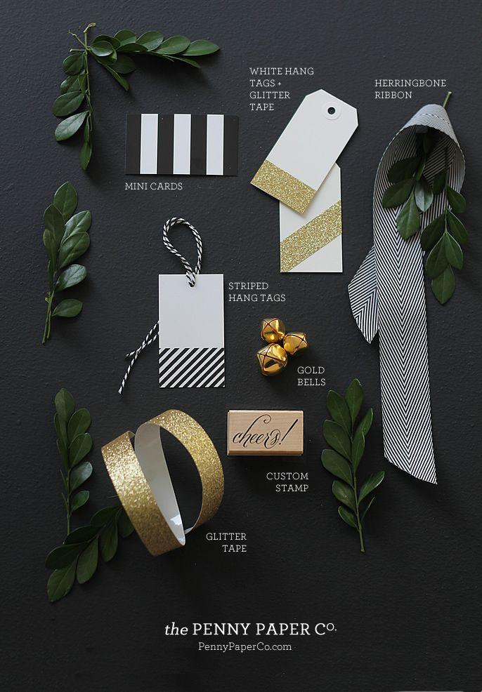 gift wrap inspiration - Aubrey + Lindsays Blog
