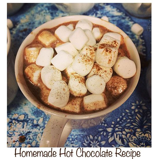 Best homemade hot chocolate recipe   I (linda stallings)  just made this and it ROCKS!  Yummmm