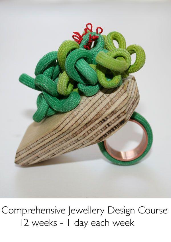 Wood Jewellery Ring by ZARA SCHOFIELD-UK