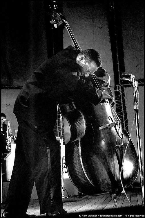 Aaron Bell of the Duke Ellington Band, New York, 1960  By Henri Dauman