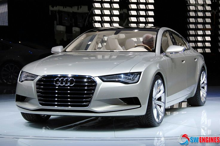 #SWEngines An Audi A7 grey