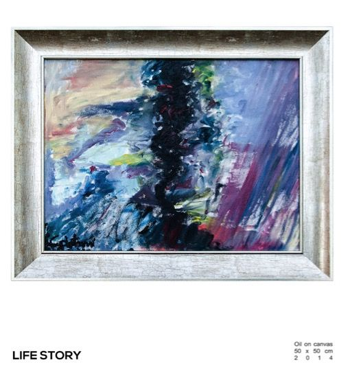 Life Story  oil on canvas