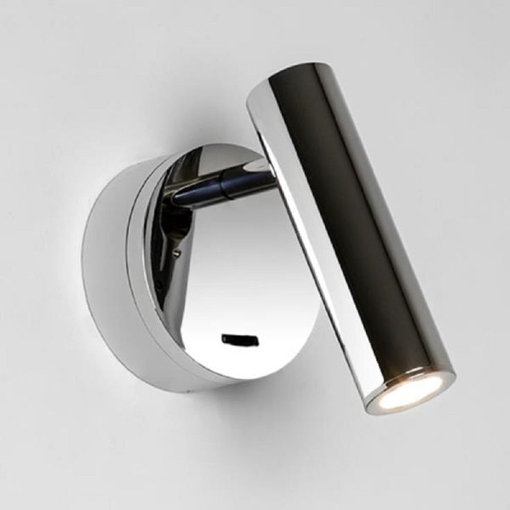 Led Reading Light For Over Bed Surface Mounted Switched Chrome