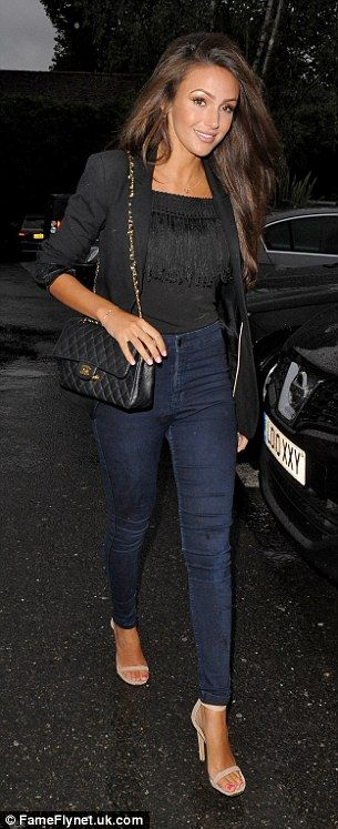Newlywed glow: It comes as no surprise that Michelle Keegan and Mark Wright were flashing ...