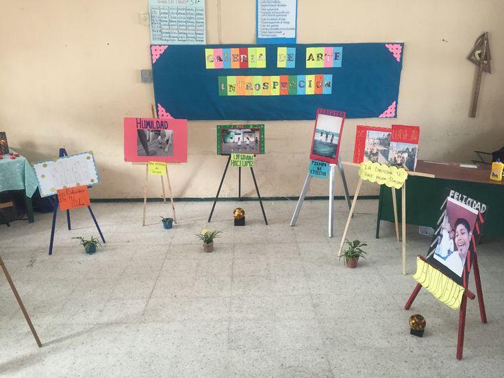 Galeria de arte, acercamiento del estudiante a la sensibilizacion artística