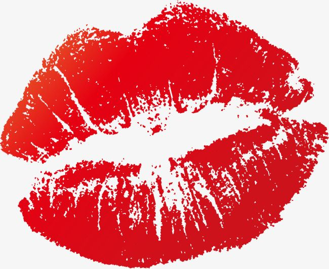 Vector Kisses Cartoon Lips Kiss Lips Png Transparent Clipart