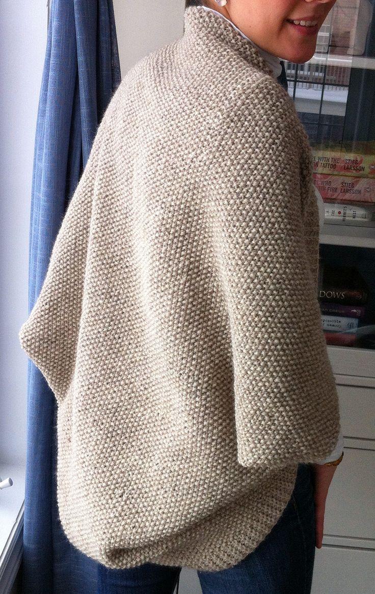 Knitting Pattern For Shrug Sweater : Best 25+ Knit shrug ideas on Pinterest Shrug knitting ...