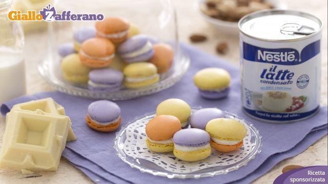 Macarons, tipici pasticcini francesi