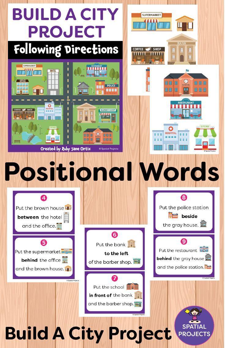 Positional Words Activities And Worksheets Word Activities Following Directions Activities Positional Words Activities [ 1136 x 736 Pixel ]