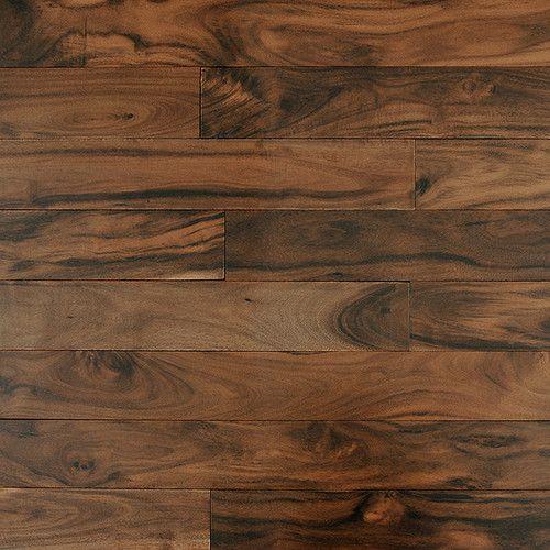 3 Solid Acacia Flooring In Golden Walnut