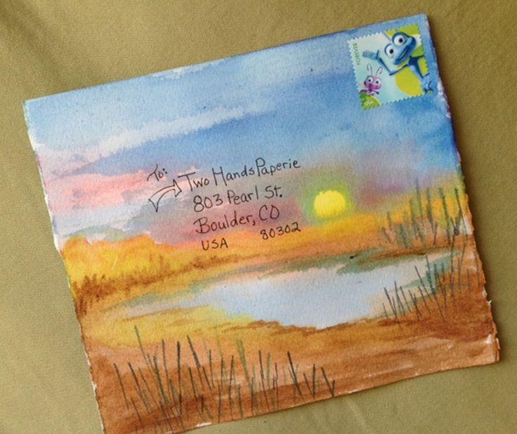 Mail Art Envelope #MailArt