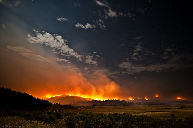 Newcastle, Wyoming Forest Fire | Flickr - Photo Sharing!