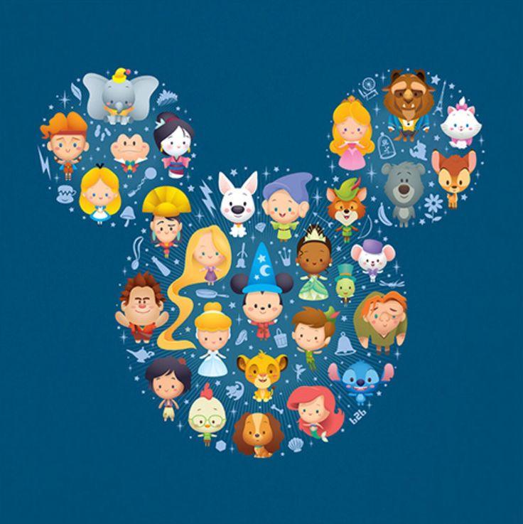 Personnages Disney
