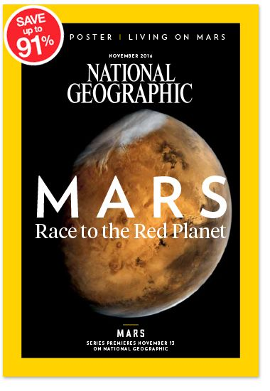 National Geographic Magazine Subscriptions