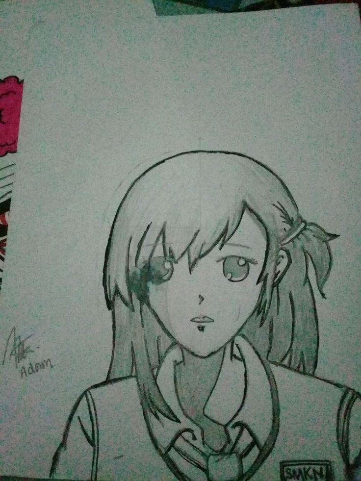 Anime kawaii animasi art sketch