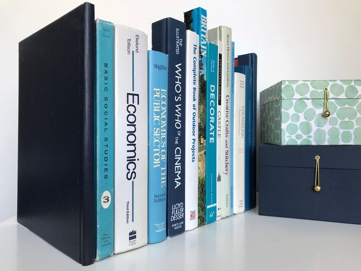 Hidden Storage Book Box Router and Cord Hider, Secret Faux Bookshelf Extra Large Tall Vintage Decorative in Blues, Whites, Neutrals by Covogoods on Etsy https://www.etsy.com/listing/574839837/hidden-storage-book-box-router-and-cord