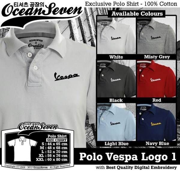 Polo Shirt - POLO Vespa Logo 1