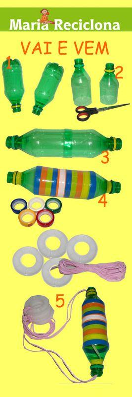 ** Maria Reciclona **: Reciclagem Embalagem Pet