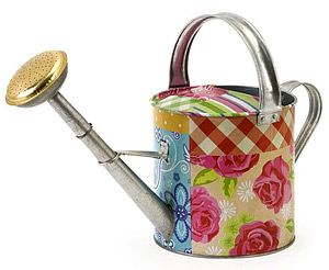 Superior County Fair Patchwork Watering Can #Decorative #garden #tools #outdoors  #home #