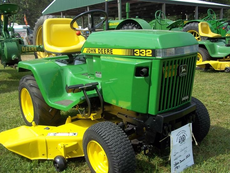 John Deere 332 Lawn Tractor Parts : Best images about mowers on pinterest